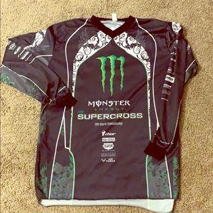 Men's large Monster Supercross long sleeve